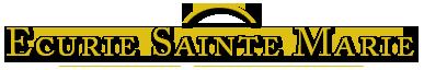 Logo Ecurie Sainte Marie - Pension cheval dans le Jura (39)